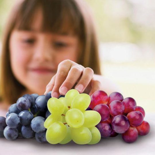 Виноград захищає зуби від руйнування